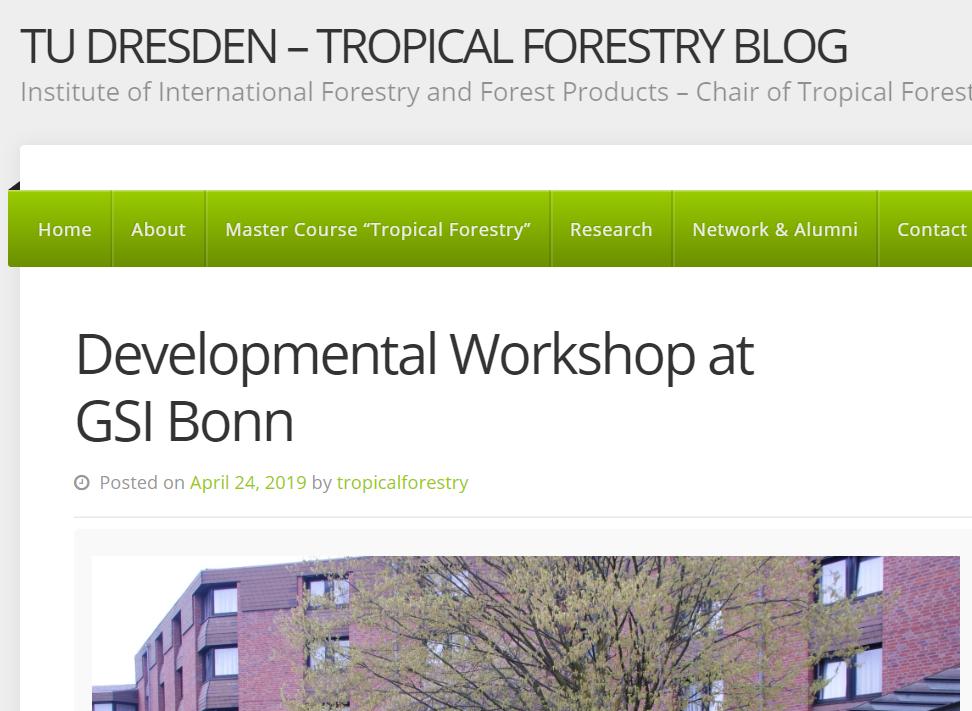 AGEP Developmental Debates with Gustav-Stresemann-Institut in Bonn