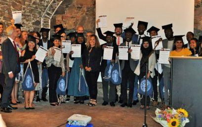 Young Global Urban Health graduates of the Freiburg University