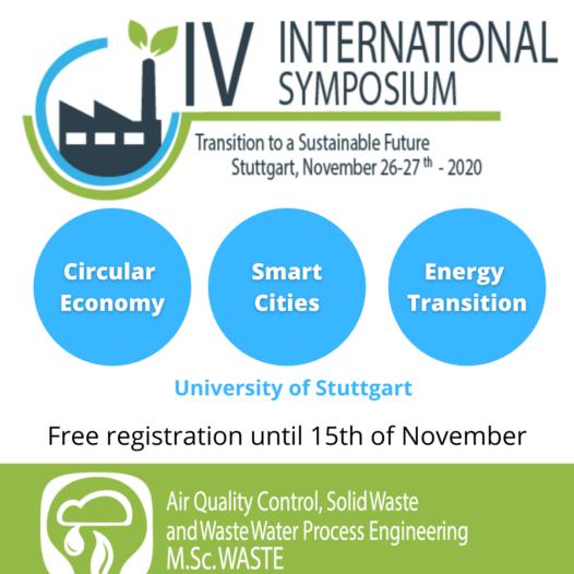 IV International Symposium: Transition to a Sustainable Future
