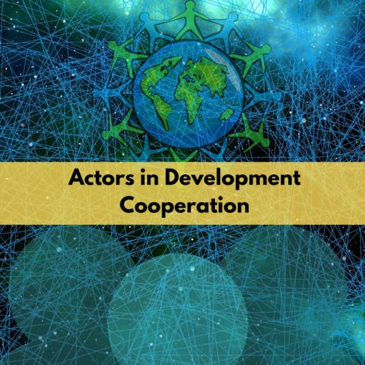 Actors in Development Cooperation